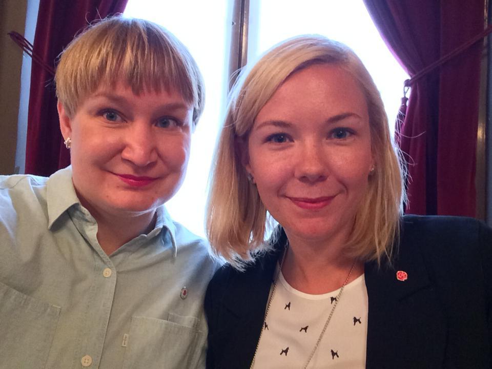 Twitter gnugga och bogsera runka i Gävle