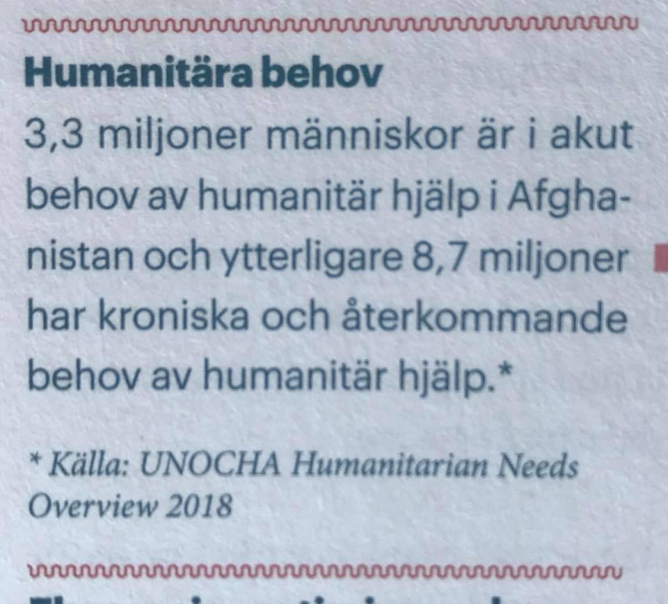 humanitär hjälp utbildning